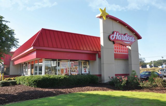 Hardees Building Exterior