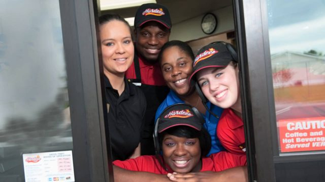 Hardees Now Hiring Window